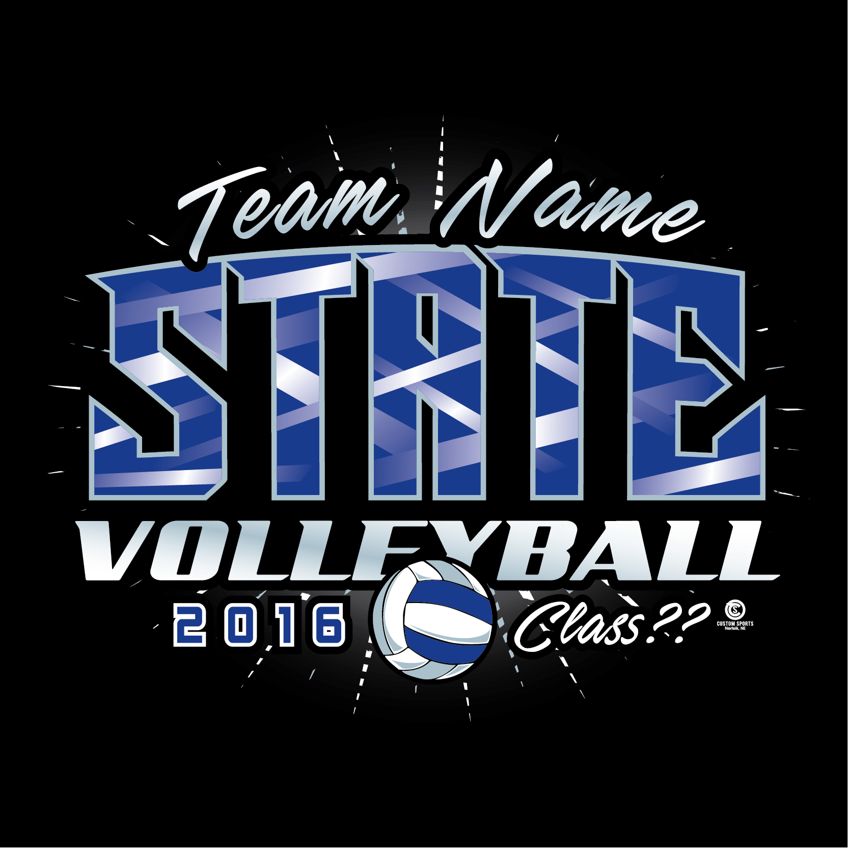 Volleyball T Shirt Designs Custom Sports