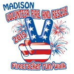 Madison Volunteer Fire and Rescue Firecracker run walk