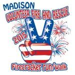 Madison Volunteer Fire and Rescue Firecracker run walk