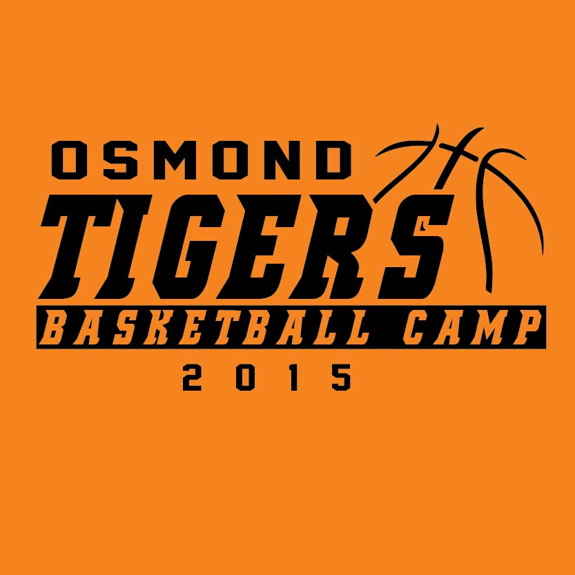 Basketball t shirt designs and screenprinting custom sports Camp designs