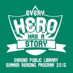 Every Hero Has a Story Osmond Library
