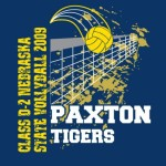 Paxton Tigers Volleyball