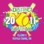 2011 Softball Districts