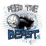 Feed the Beast Volleyball Shirt