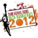 Boys Basketball T-Shirt Design