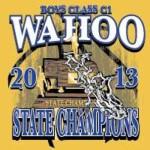 2013 Basketball State Champions Wahoo