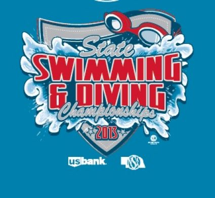 Swimming and Diving Team T-Shirt Designs — Custom Sports