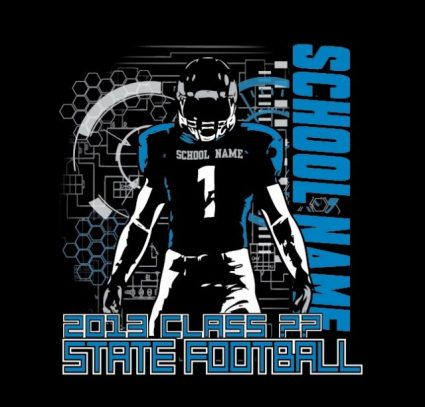 Football T Shirt Designs Custom Sports