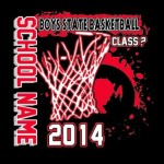 2014 State Basketball T-Shirt