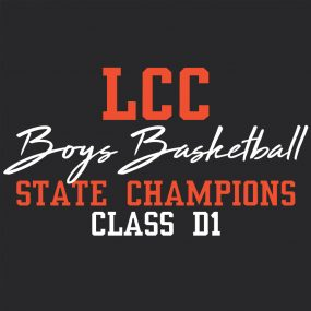 LCC Boys State Basketball Champions