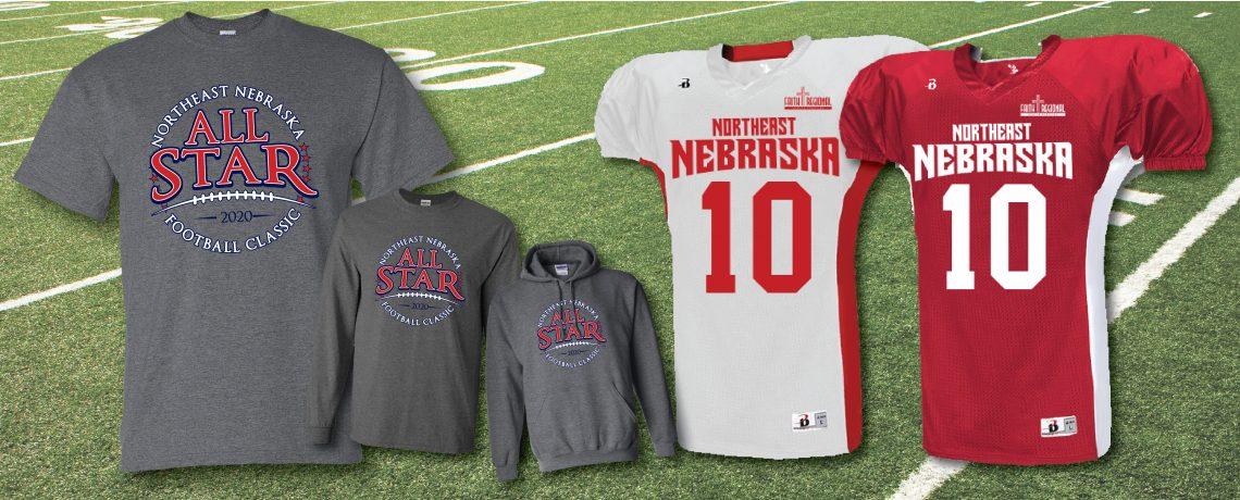 Northeast Nebraska All-Star Football Classic Apparel