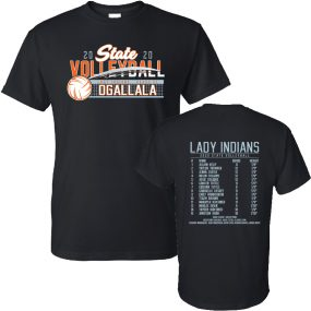 Ogallala State volleyball