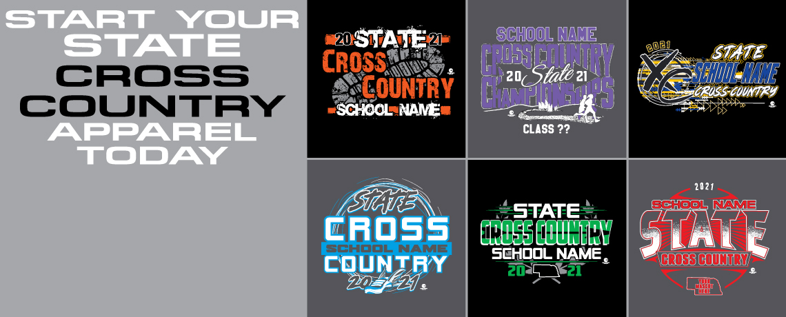 Track & Field and Cross-Country Designs